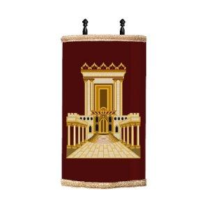 """מעיל לס""""ת דגם בית המקדש"""